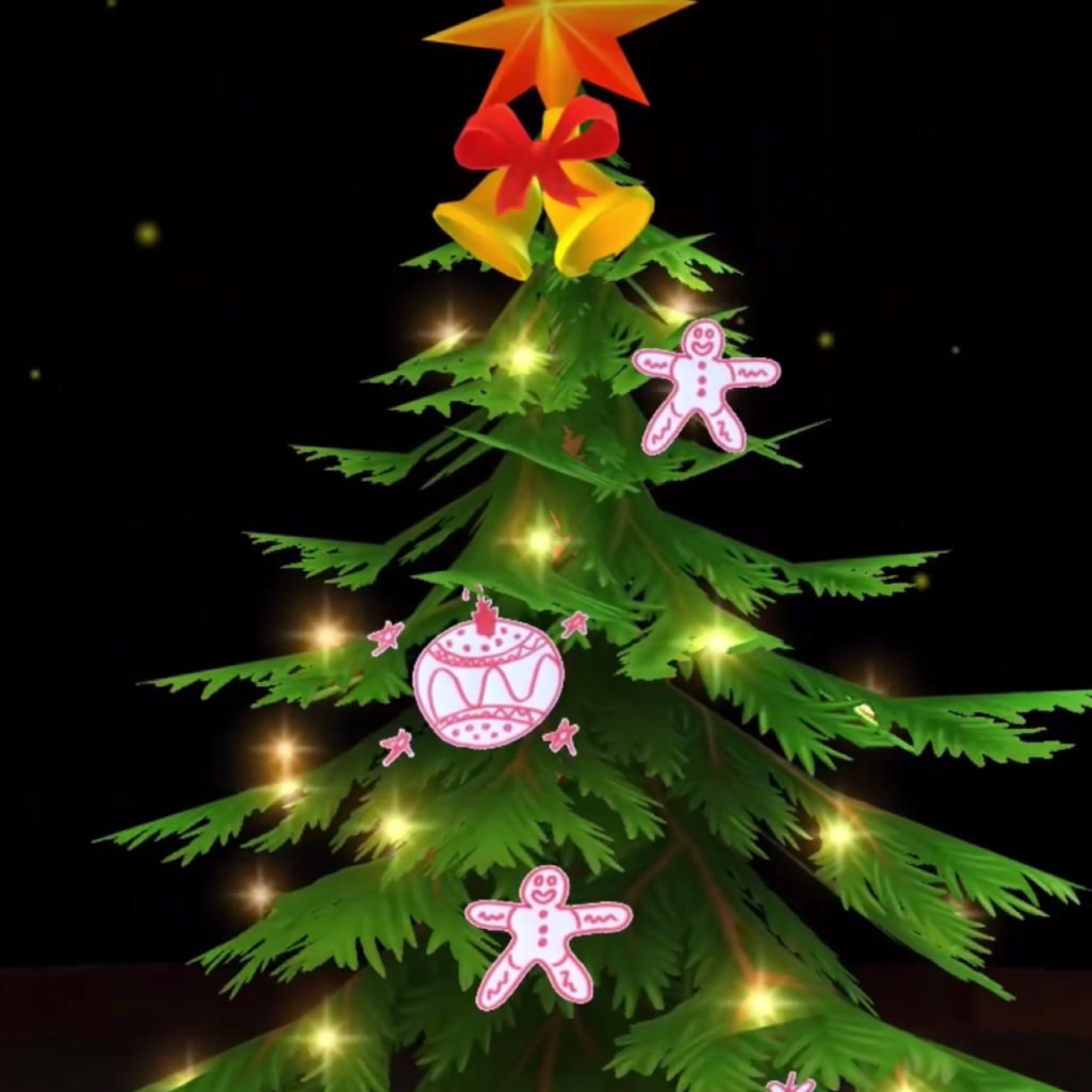 Digital Christmas Tree