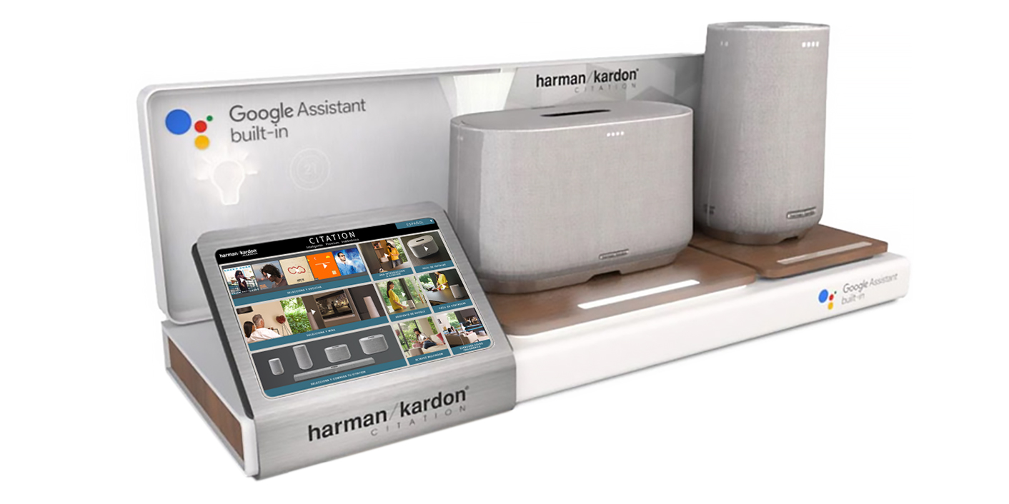 Harman Kardon – Retail Display App